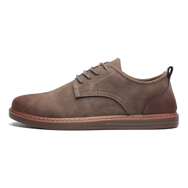 fashion leather casual shoes men comfortable leisure moccasins cheap dress male footwear work elegant boy oxford shoes for men (1)