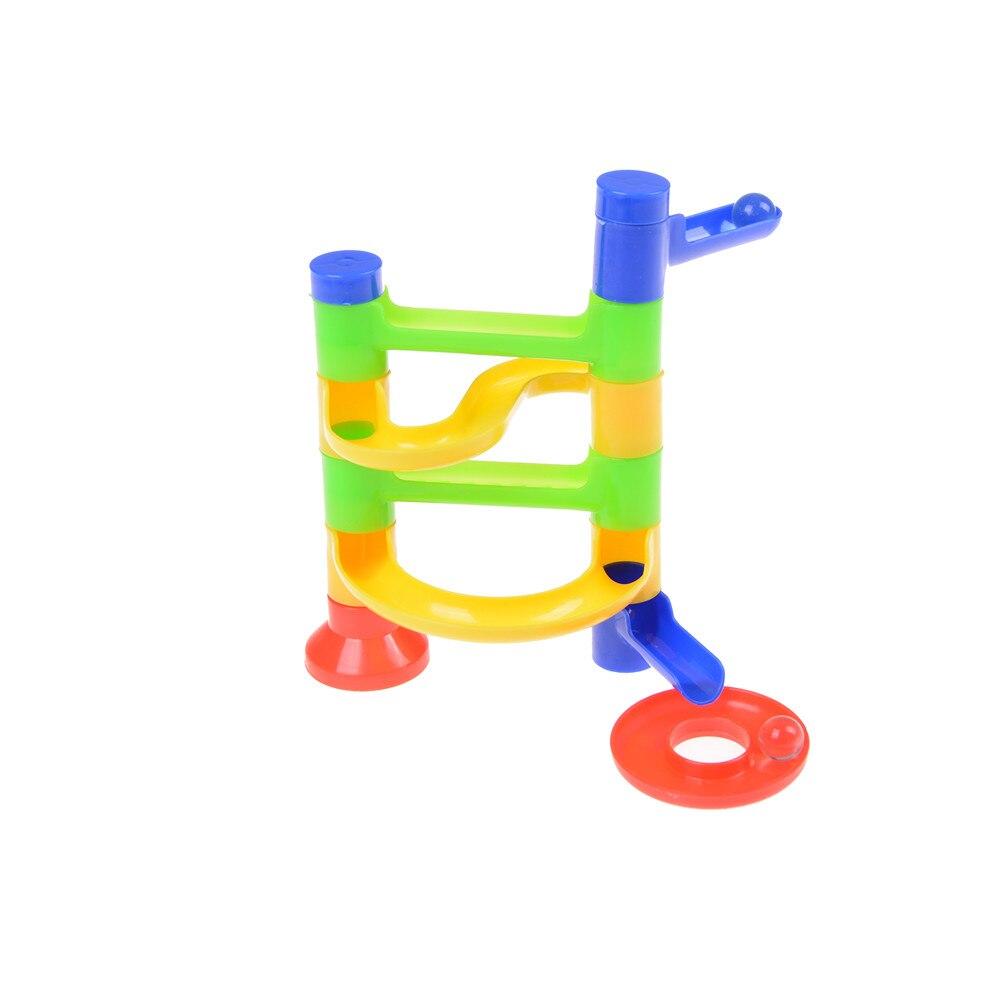 Hot SALE DIY Construction Race Run Maze Balls Track Building Blocks Educational Toy DIY Toys