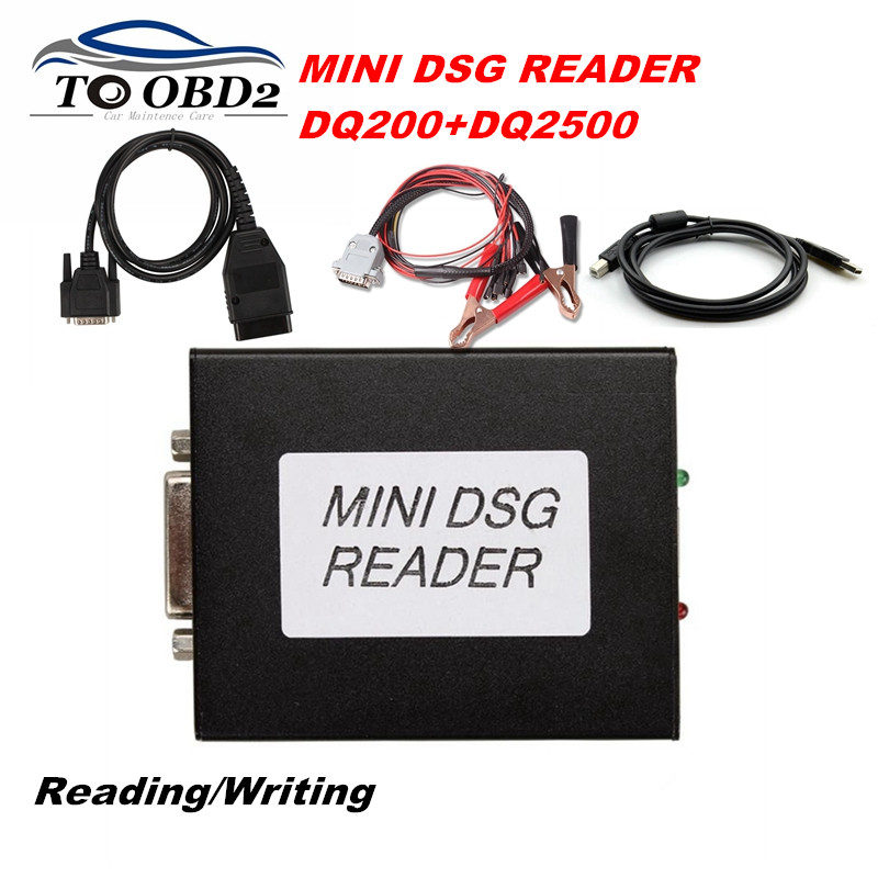 Hot Sell Newest MINI DSG Reader Gearbox Data DSG Diagnosis DQ200 DQ250 For AUDI For Volkswagen