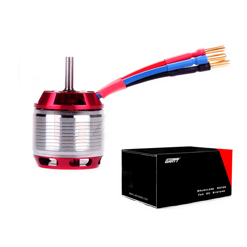 GARTT HF 530KV 4500W Brushless Red Color Motor For Align Trex 700 RC Helicopter gartt hf450l 1800kv brushless motor for trex 450l 480 helicopter
