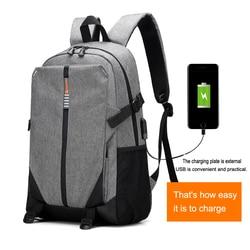 Tigernu brand men backpack anti theft USB charge 14