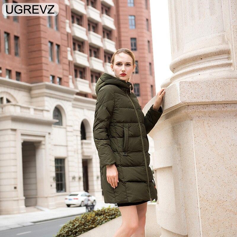 Nouveau Casual Femme De Mode Ugrevz 625green Veste Hiver Femmes Le Manteau  2018 Automne Chaud Coton ... ee60f2da87c