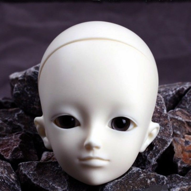 [wamami] AOD 1/4 BJD Dollfie Girl Doll Parts Single Head (Not Include Make-up)~Fei