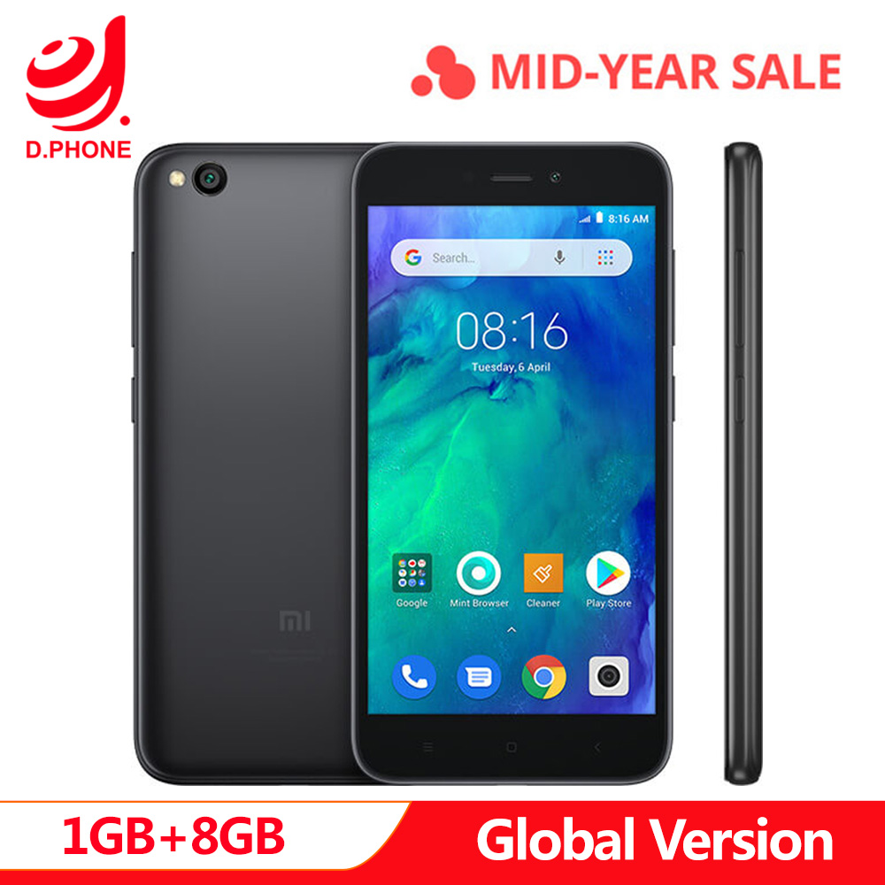 Original Global Version Xiaomi Redmi GO 1GB 8GB Phone Snapdragon 425 Quad Core 5.0