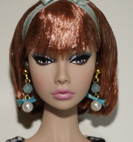 Hazy beauty Handmade Fashion Jewelry Earring Accessories For Barbie Fr 1 6 Dolls BBIEAR001