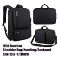 Man Woman Business Laptop Backpack bag 15.6 17 17.3 inch Waterproof Notebook Travel Bag multifunction bag For Macbook Pro Air Hp