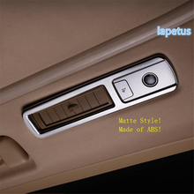 Lapetus Roof Air Conditioning AC Outlet Vent Decoration Frame Cover Trim ABS Fit For Toyota Alphard / Vellfire AH30 2016 - 2019 lapetus car styling upper roof air conditioning ac vent outlet cover trim abs fit for toyota alphard vellfire ah30 2016 2019