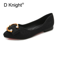 Plus Size 36 42 Moccasins Loafers Women Flats Shoes Soft Slip On Ladies Footwear Female Summer Casual Shoes Women Flats Black