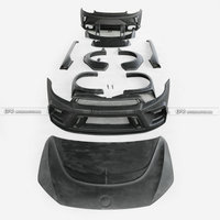 FRP Fiber Glass Body Kits Front Bumper Fender Rear Spoiler Side Skirt Car Styling Car Kit For VW Scirocco R AS style
