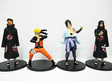 4 Pcs Action Figures Japanese Anime NARUTO