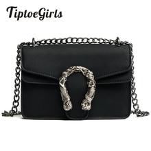 Tiptoegirls модные женские туфли сумки новый дизайн для девочек на плечо диагональ качество кожа леди Винтаж цепи маленькая сумка