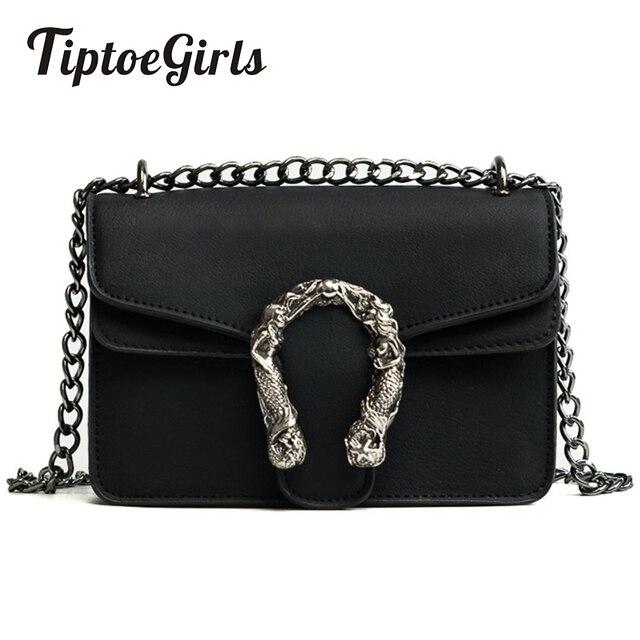 Tiptoegirls Mode Frauen Taschen Neue Design Mädchen Schulter Taschen Diagonal Qualität Leder Dame Handtaschen Vintage Ketten Kleine Tasche