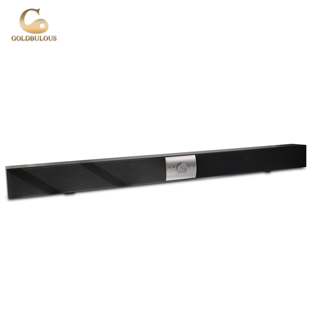 China Top Brand TV Soundbar Bluetooth Speaker System 24W Max 48W HiFi Super Bass Altavoz Support TF Card Aux Audio Home Theater goldbulous portable wireless bluetooth speaker 20w hifi bass pa speakers high quality home theater music player support tf aux