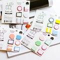 Fresco de corea Lindo Post-It Bookmark Marker Memo Pad Notas Adhesivas de Perfil Etiqueta Pegatinas de Papel de Bloc de notas de Escritorio para dokibook