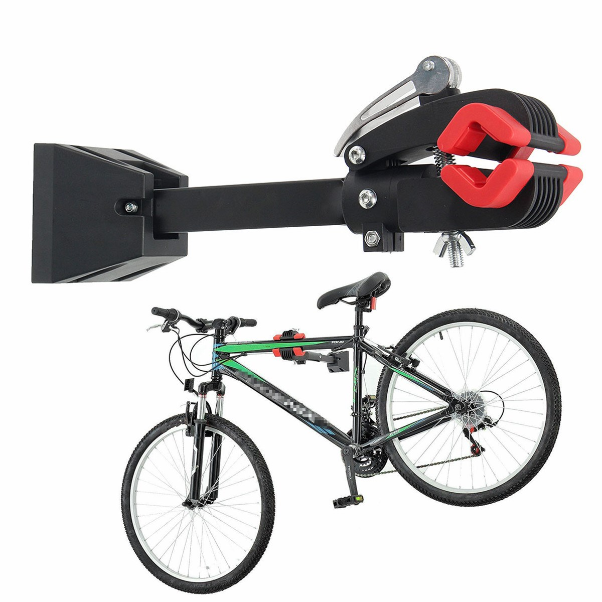 outerdo wall mount heavy duty bike bicycle maintenance. Black Bedroom Furniture Sets. Home Design Ideas