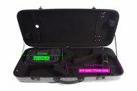 Violin/Viola Case Mixed Carbon Fiber Adjustable Size Double Violin case black color