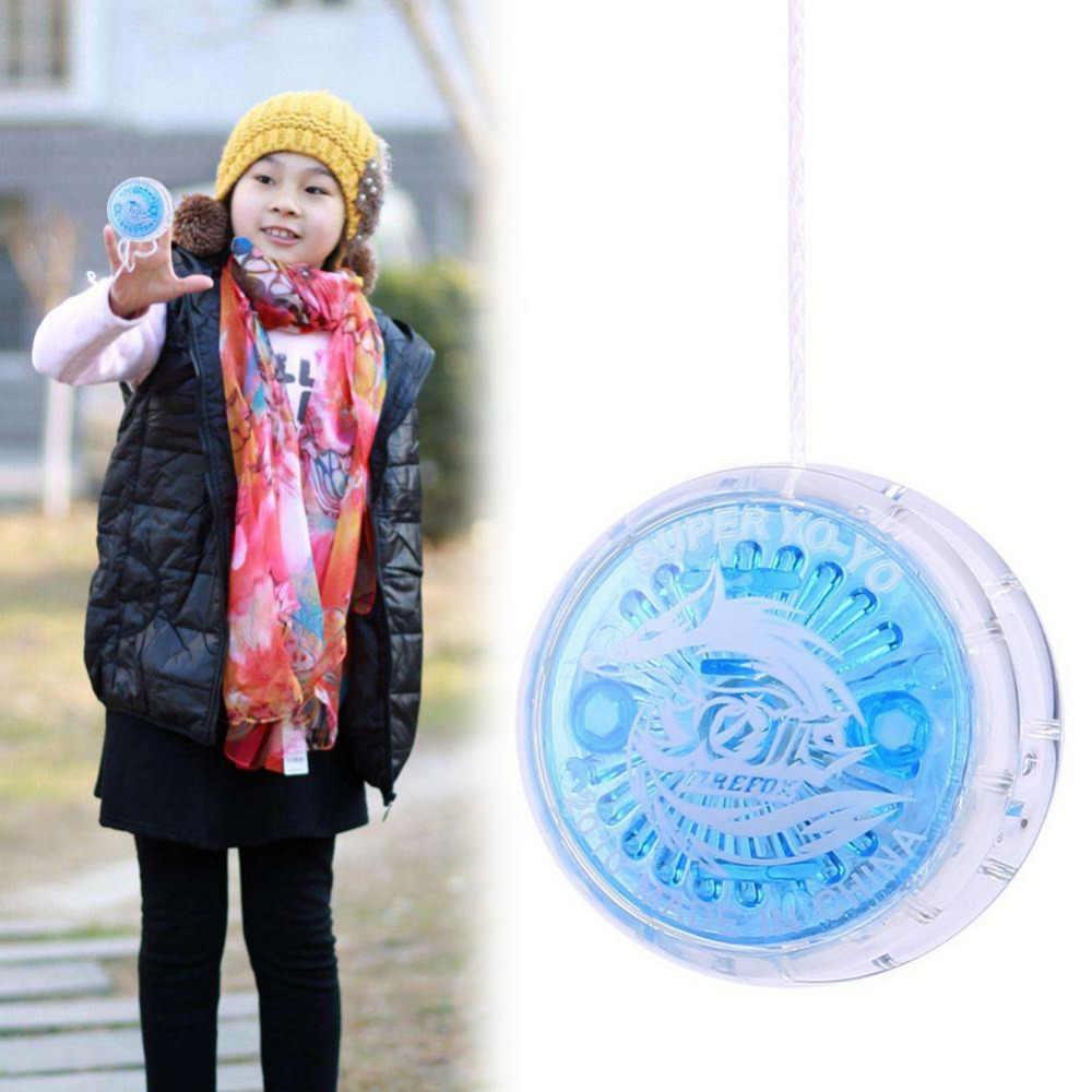 Nova 1pc Plástico Fácil de transportar YOYO Partido Colorido Iô-Iô Toys Com Seqüência de Fiação Para Crianças Menino brinquedos de Presente Brinquedos Clássicos J71
