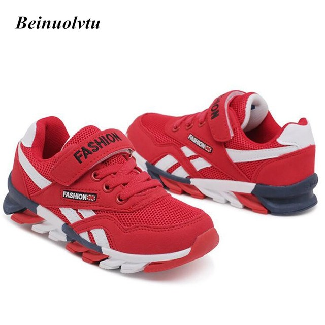 Trendy Kids Sneakers Sports shoes Comfortable Boys Running shoes Children Sneakers 26-39 Canvas Sneakers Breathable