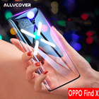Allvcover 3D Curved Full Screen Tempered Glass For OPPO Find X Glass 9H Anti-Scratch Toughened Protective Glass Screen Protector