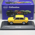 Atlas1:43 Volvo 66 DL models car Collection Diecast Toy Vehicles Contemporary Manufacture yellow