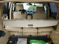 Auto rear trunk cargo cover for Volkswagen Touran 201 , auto accessories