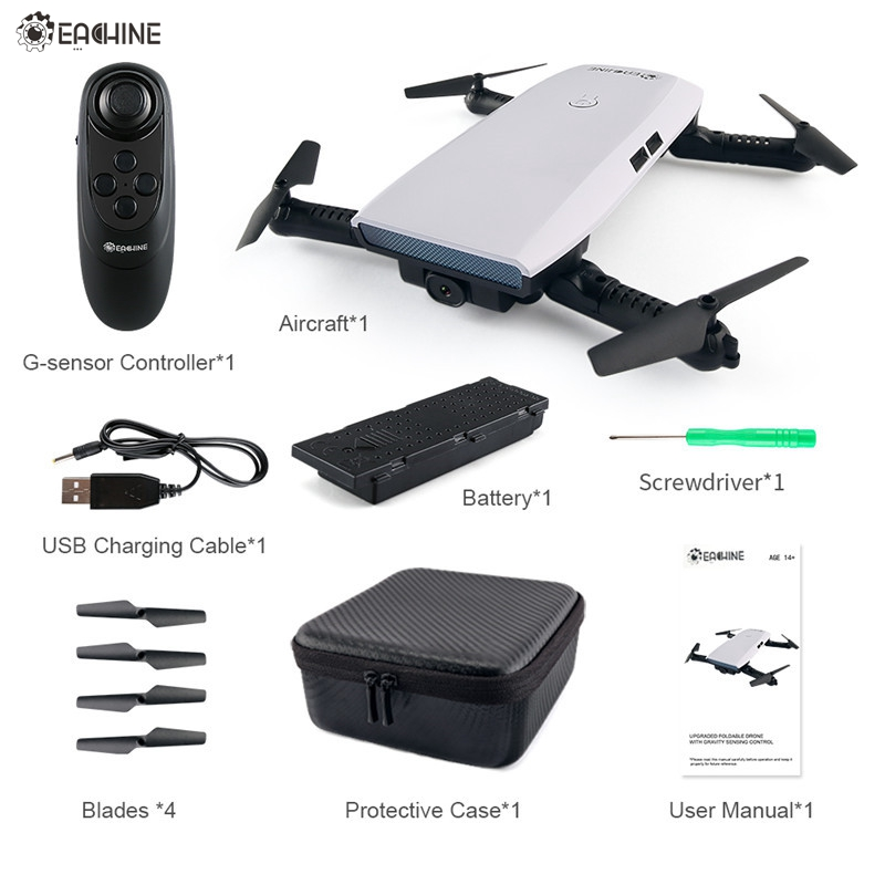 Em Estoque! Eachine E56 720 P WI-FI FPV Zangão Selfie Com Sensor de Gravidade Altitude Espera Nova Chegada Brinquedo do RC Quadcopter RTF VS JJRC H47