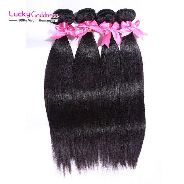 Annabell Indian Straight Virgin Hair 4 Bundles Indian Straight weave Hair 8a Unprocessed Virgin Weft cheap human Hair extensions