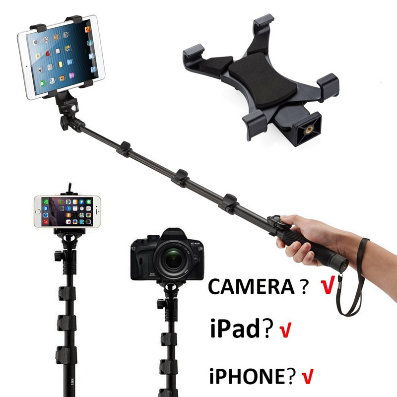 Phone tablet PC Selfie Stick Wireless Remote Control Self Monopod for Samsung S9 PLUS S8 S7 For Sony Smartphones Camera Photo