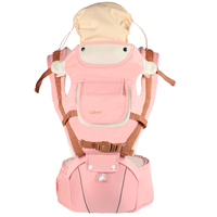 INSULAR New Design Multi function Baby Carrier with Hip Seat 360 Ergonomic Baby Backpack Carriers Front and Back
