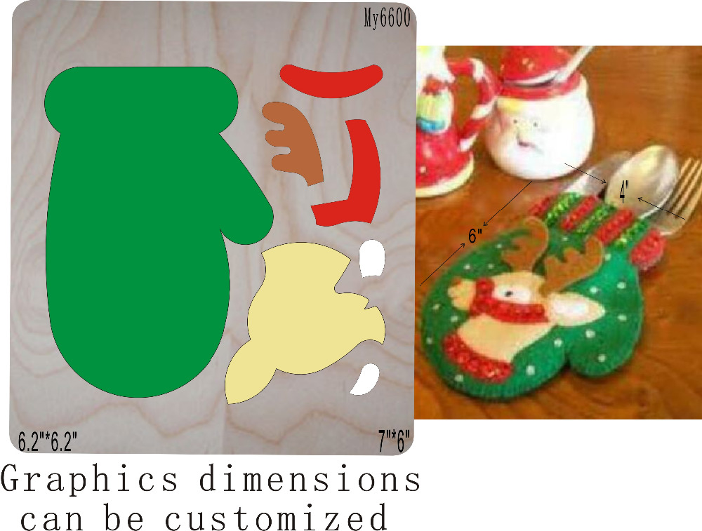 Christmas Stockings Die Cutting  & Wooden Dies Fit /// Scrabooking