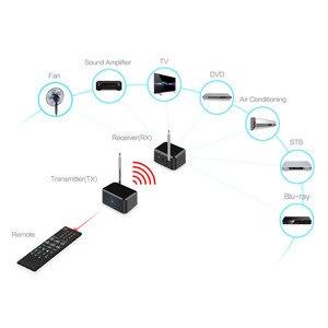 Image 2 - 433 Mhz Wireless Audio Adapter Zender Ontvanger Afstandsbediening Ir Extender Repeater Voor Dvd Dvr Iptv