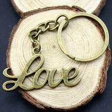 10 шт. брелок с буквами любви ручной работы с биркой для ключей любовь свадебные подарки для гостей сувениры пары подарок на день Святого Валентина
