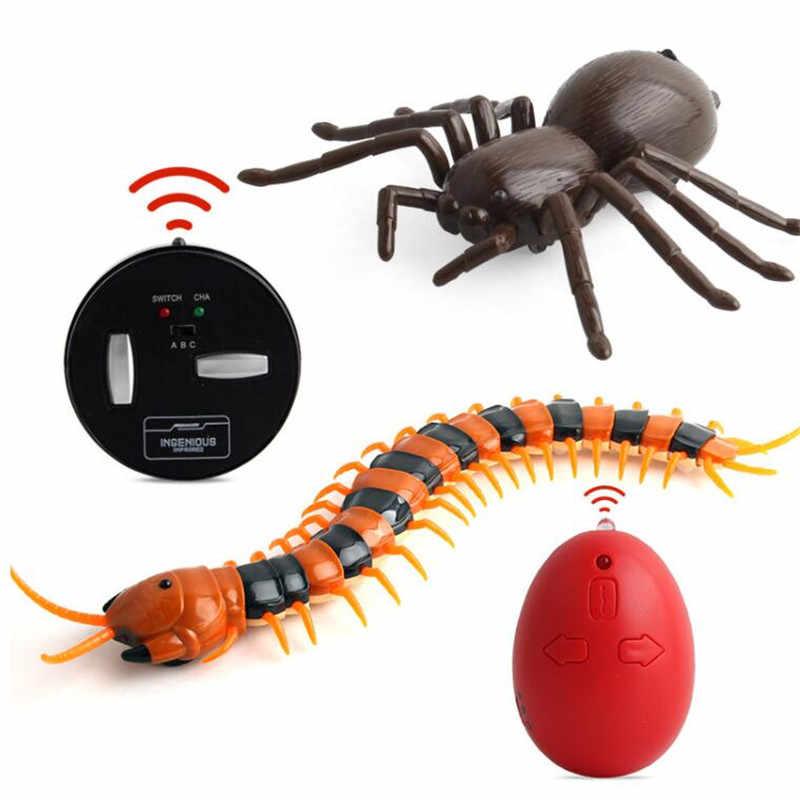 Робот насекомое шалость игрушки трюк электронный питомец RC симулятор скорпиона Жук дистанционное управление Умный животный модель детский подарок для взрослых
