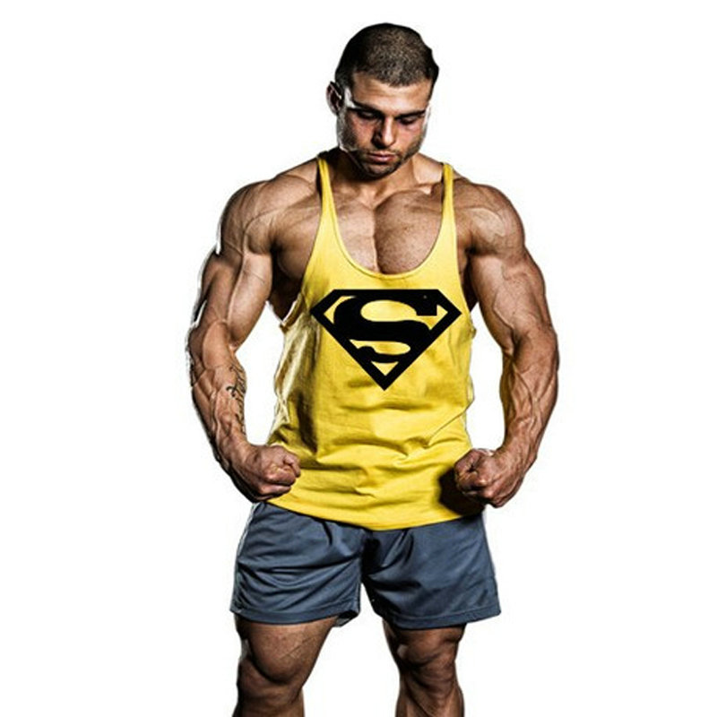 Golds gimnasio Stringer Tank Top Men Bodybuilding Clothing and Fitness camiseta tirantes hombre Vest Singlets Muscle Tops