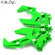 цена Motorcycle  Chain adjuster Chain Adjuster Blocks chain adjuster tensioner  for KAWASAKI ninja300  2013 2014 2015 2016