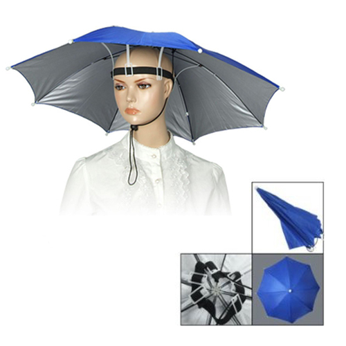 38563e9a70d HGHO-New Usefull Umbrella Hat Sun Shade Camping Fishing Hiking Festivals  Outdoor HandsFree Parasol Umbrella Hats Cap