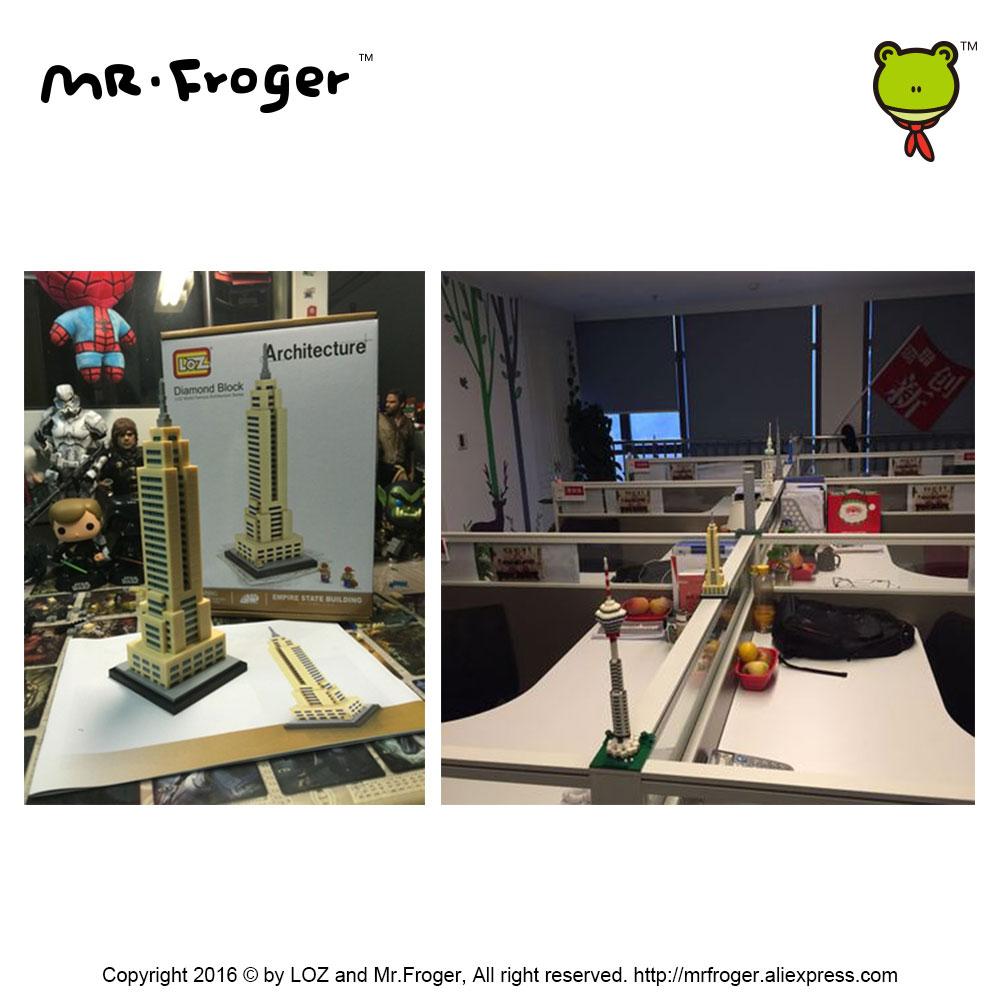 Mr.Froger LOZ Эмпайр Стейт Билдинг Даймонд - Дизайнерлер мен құрылыс ойыншықтары - фото 6