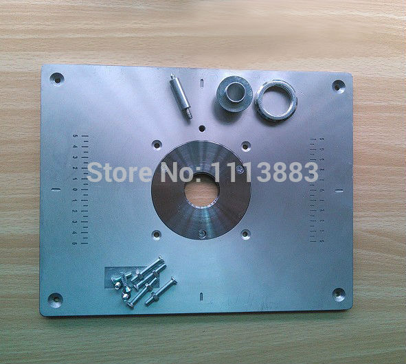 Aluminum router table insert plate for popular router models aluminum router table insert plate for popular router models engrving machine diy woodworking benches on aliexpress alibaba group greentooth Gallery