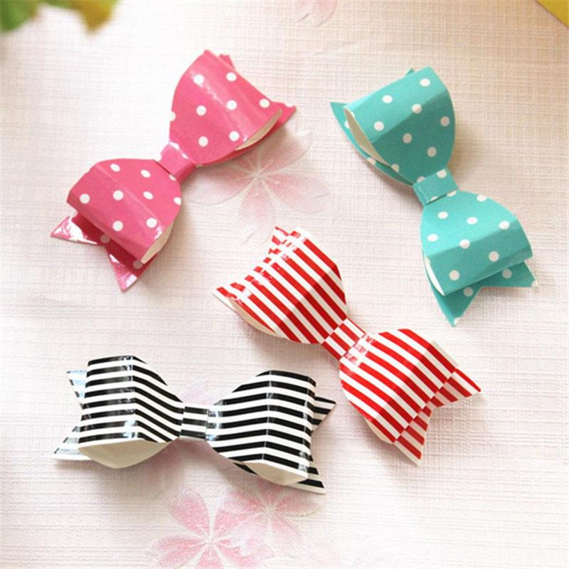 50 PCS DIY Gift Wrapping Paper Bows Party Wedding Birthday