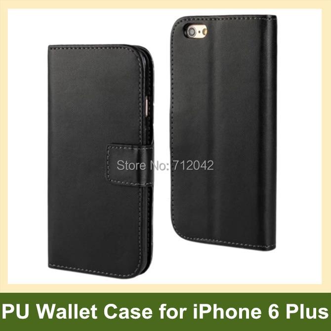 Za iPhone 6 Plus etui iz usnjene denarnice Flip ovitek za iPhone 6 - Dodatki in nadomestni deli za mobilne telefone