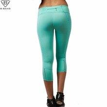B. BANG Kobiet Spodnie Sportowe Joga Fitness Rajstopy Rajstopy Slim Legginsy Działa Sportowej Szybkoschnący Sportowe Spodnie dla Kobiet