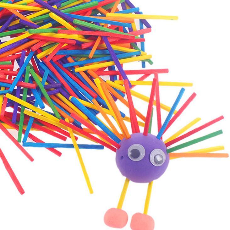 Родитель-ребенок взаимодействия игрушка считай деревянный брусок цвет древесины бар детский сад поделки ручной работы материального прои...