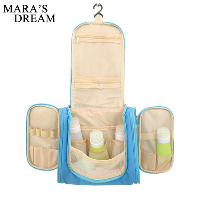 28b072d5f8f8 US $10.19 43% OFF|Mara's Dream travel organizer bags unisex women cosmetic  bag hanging travel makeup bags washing toiletry kits storage bags-in ...