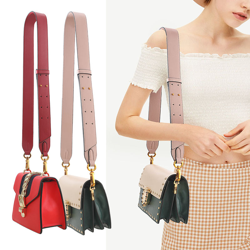 Brand Bag Strap Adjustable Shoulder Strap For Handbag Leather Bag PU Strap Bag Accessories Belt For Bag Correas Bolso Mujer