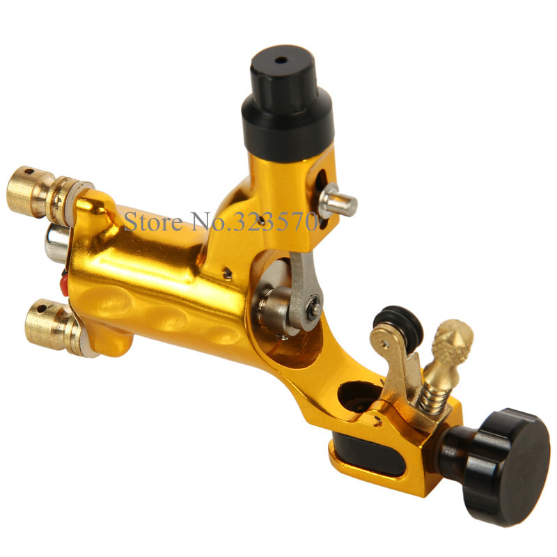 New Top Dragonfly Swiss Motor Rotary Tattoo Machine Partihandel Supply Free RCA Cord