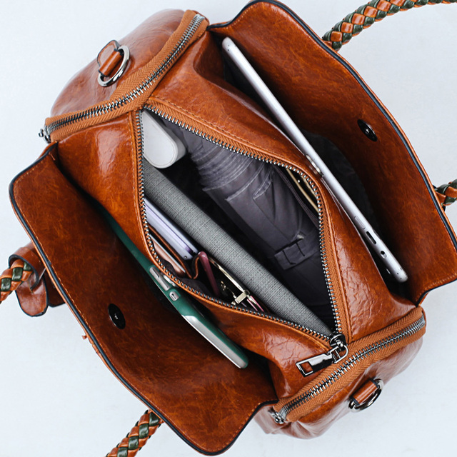 Fashion Handbags Women High Quality Leather Message Bags Female Casual Tote Ladies Bag Crossbody Bags For Women 2018 New Style 1