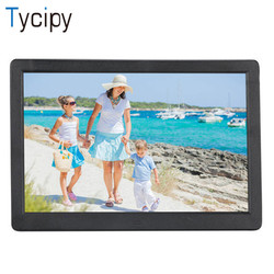 Tycipy 15 HD LED Electronic Digital Photo Frame 1280*800 Double Sided LCD Screen for Music Mp3 Video Mp4 Multiple Languages