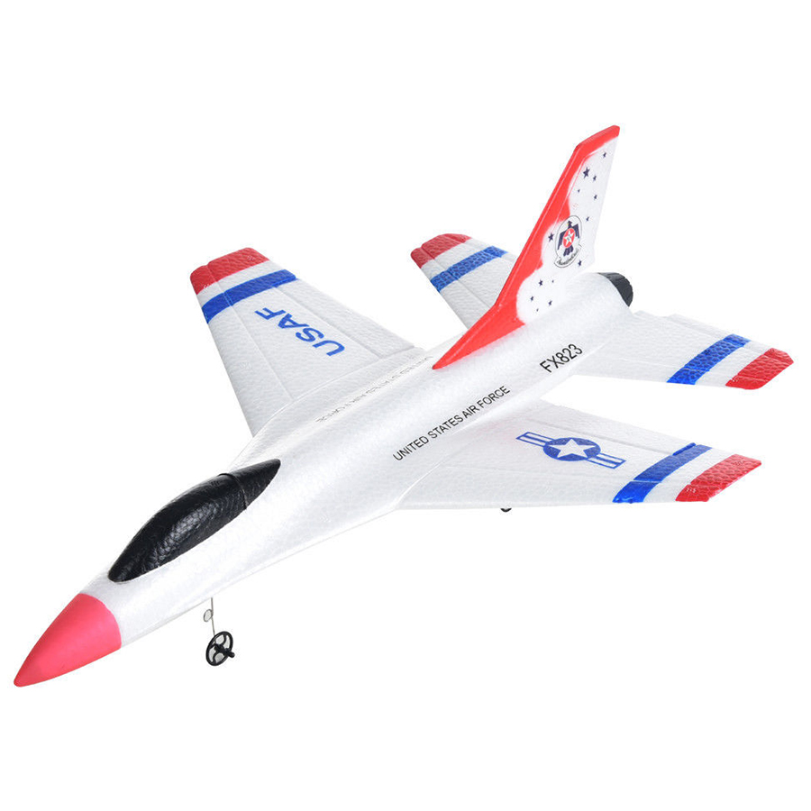 WOTT FX-823 2.4G 2CH RC Airplane Glider Remote Control Plane Outdoor Flying Aircraft image