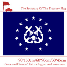 The United States Department Secretary Flag 30*45cm Car 90*150cm 60*90cm 3x5ft Assistant Treasury Printed Banner