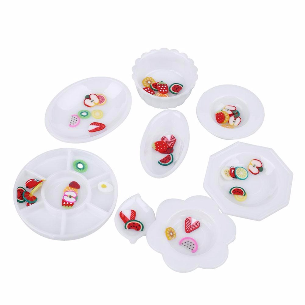 33pcs/Set Doll Kitchen Dinner Mini Acrylic Tableware Miniatures Cup Plate Dish Decor Toys Candlelight Dinner for Barbies-in Kitchen Toys from Toys u0026 Hobbies ...  sc 1 st  AliExpress.com & 33pcs/Set Doll Kitchen Dinner Mini Acrylic Tableware Miniatures Cup ...
